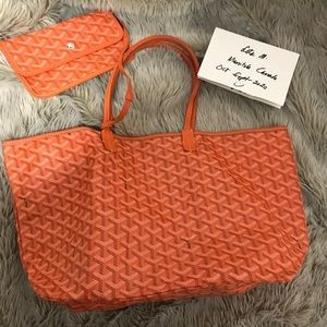 Authentic Goyard PM with pouch
